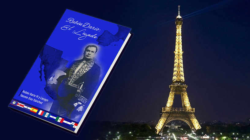 Presentación del libro RUBÉN DARÍO: EL LEGADO, París.